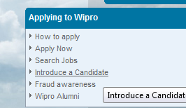 Wipro Referral Link