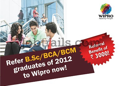 Wipro Employee Program 2012