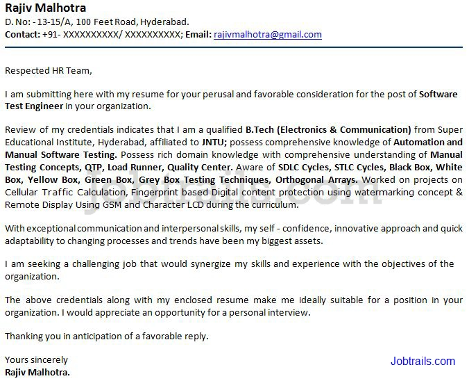 cover letter for fresh graduate accounting student